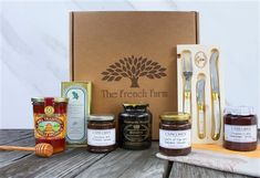 The La Luxe Gift box: Filled with the creme de la creme from The French Farm .