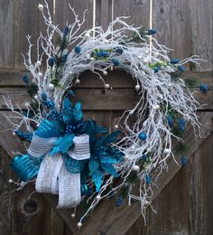 Christmas Wreath Holiday Wreath Sparkle Christmas by BaBamWreaths
