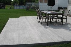 pin by ben tennyson on concrete patio cost denton pinterest
