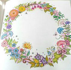 Johanna Basford Secret Garden, Colouring, Coloring Books, Colored Pencils, The Secret, Garden, Coloring Pages, Crayons, Paint Colors
