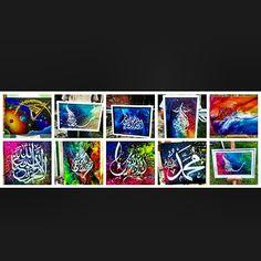 Medankaligrafi ##happy #fun #smile #amazing #painting #speed #amazing #Allah #pengasih #penyayang