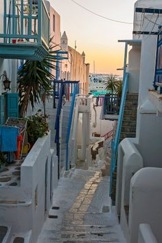 Ruelle de Mykonos, Greece