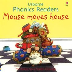 "One of the original books in the Usborne Phonics Readers Series,""Mouse Moves House,"" is still available as a separate title as well as included in ""Ted and Friends,"" the combined volume of the first twelve phonics books published and illustrated by Stephen Cartwright."