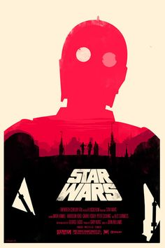 Star Wars Trilogy. Officially licensed, screen printed Star Wars posters by Olly Moss. Edition of 400.