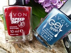#kamzakrasou #avon #love #cosmetics #nails #beauty #polish #nailpolish #new Avon - Gel Finish a Speed Dry laky na nechty - KAMzaKRÁSOU.sk