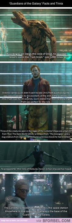 """5 """"Guardians Of The Galaxy"""" Facts And Trivia…"""