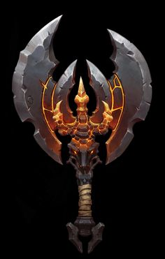 ArtStation - Demon Axe , Betty Jiang