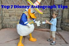 Top 7 Autograph Tips With Your Favorite Disney Characters