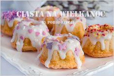 Ciasta na Wielkanoc – 15 propozycji My Favorite Food, Favorite Recipes, My Favorite Things, Polish Recipes, Doughnut, Cheesecake, Muffin, Sweets, Snacks