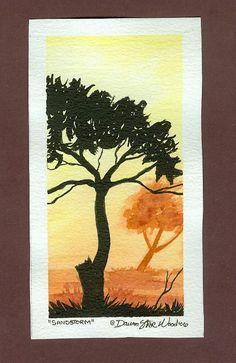 Sandstorm postcard by DawnstarW.deviantart.com on @DeviantArt