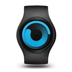 El Reloj Ziiiro Gravity Black Ocean es un increíble reloj de silicona y acero inoxidable y totalmente flexible adaptándose a cualquier muñeca, y totalmente intercambiables con otros colores. #azul #negro #especiales