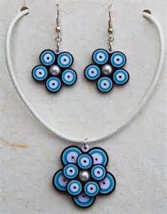 Paper Quilling Jewellery Set - Bing images