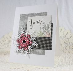 Handmade Holiday  Christmas Greeting Card by