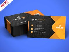 Download Free Modern Corporate Business Card Template PSD. This Modern Corporate Business Card Template PSD suitable for Corporate Business, Creative Agency, Digital Studio or personal branding. This Modern Corporate Business Card Template PSD download contains 3.5×2inch, 300 dpi print-ready CMYK 2 psd files (Front and Back). Very easy to customized, grouped in organized folders and layers is well named, so it's very easy to make custom changes.