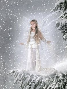 Angel or fairy animated gif