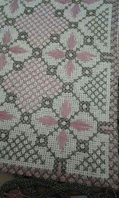 Cross Stitching, Cross Stitch Embroidery, Cross Stitch Patterns, Swedish Embroidery, Bargello, Crochet Crafts, Needlepoint, Needlework, Embroidery Designs