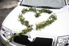 auto Green Wedding, Wedding Colors, Wedding Car Decorations, Cute Selfie Ideas, Deco Floral, Fantasy Wedding, Woodland Party, Bridal Flowers, Bridal Collection