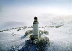 Light house, Hiddensee Island, Germany