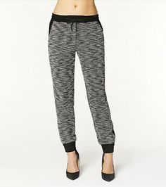 Get cozy & glamorous with these supersoft fleece pants!