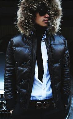 Fall 2012 fur-lined hood