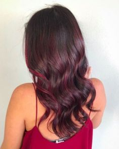 "Introducing the new drink-inspired hair-color trend, ""mulled wine hair."" Check out all the inspiration and find out more about the fad, here. Pastel Purple Hair, Hair Color Purple, Burgundy Hair, Pelo Color Vino, Black Cherry Hair, Wine Hair, Redken Hair Products, Red Blonde Hair, Brown Hair With Blonde Highlights"