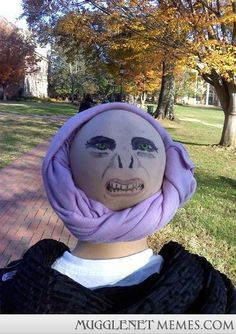 Awesome Quirrell Costume