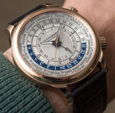 Chopard L.U.C Time Traveler One World Time Watch Hands-On