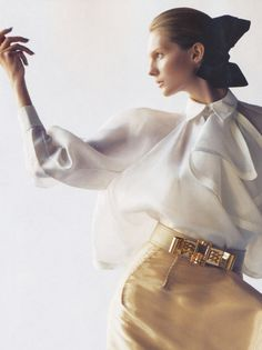 """""""Poised To Perfection"""". Karolin Wolter for VOGUE Nippon"""