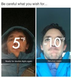 The Best Funny Pictures Of Today's Internet  RuinMyWeek.com #funny #pictures #photos #pics #hilarious #comedy #humor #winter #cold #temperature