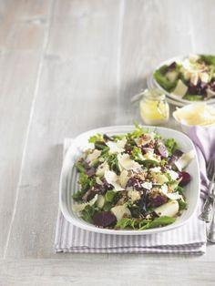 Šošovicovo-cviklový šalát so zemiakmi | Recepty.sk