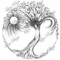 Tree of Life Art Print Dryad Tree Spirit art by ArtSoulCreations, $17.00