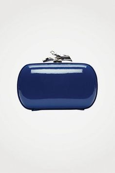 Lytton Small Clutch in Lapis, Fall 2012: Rendez-vous
