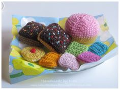 Crochet, DIY, playfood