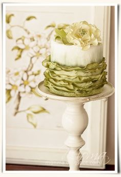 romantic cake - by Monika @ CakesDecor.com - cake decorating website