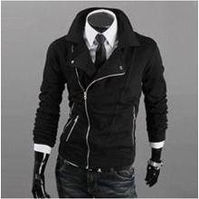 WIZIKOREA - Asymmetric Zipup Jacket