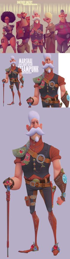 MARSHAL on Behance