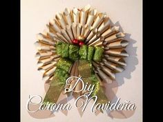 DIY / CORONA NAVIDEÑA CON PERIODICO / SMALL & LOW COST - YouTube