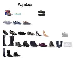 """""""My Shoes"""" by ekavna on Polyvore featuring мода, adidas, Skechers, Christian Louboutin, adidas NEO, ECCO и Hotter"""
