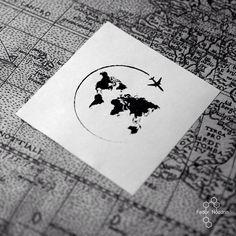 #art #tattoo #tattoos #flash #sketch #black #mnml #minimalism #world #trip #msk #moscow #москва #мск #fedornozdrin