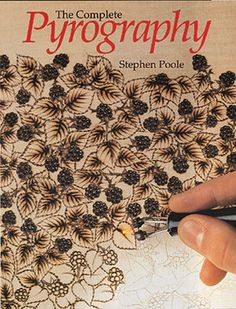 This state-of-the-art woodburning guide introduces both traditional methods and today's techniques using electrically heated engraving tools and hot-wire tools.