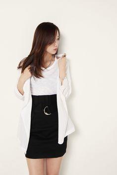 Modern vintage #fashion #black #white
