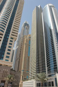 Skyscrapers in Media City, Dubai