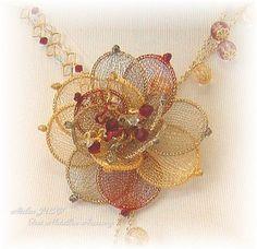 Jewelry making Italian Ribbon 4 Yards or More Grape