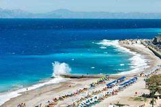 RhodosKalmar Places To Visit, Waves, Beach, Outdoor, Rhodes, Outdoors, The Beach, Beaches, Ocean Waves