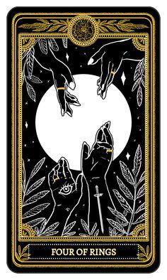 hi i& amrit brar — The Marigold Tarot Minor Arcana: Rings, Amrit. - - hi i& amrit brar — The Marigold Tarot Minor Arcana: Rings, Amrit… Arte Black, Stampin Up Karten, Frida Art, Tarot Spreads, Oracle Cards, Tarot Decks, Tarot Cards, Tarot Card Art, Art Plastique
