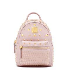 Bebe Boo X-Mini Backpack in Pink by MCM