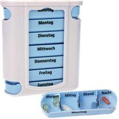 http://ift.tt/1Yxa3gF Medikamentendosierer Pillendose Pillenbox Tablettendose Tablettenbox Wochendosierer 7 Tage von M&H-24 #vaali$