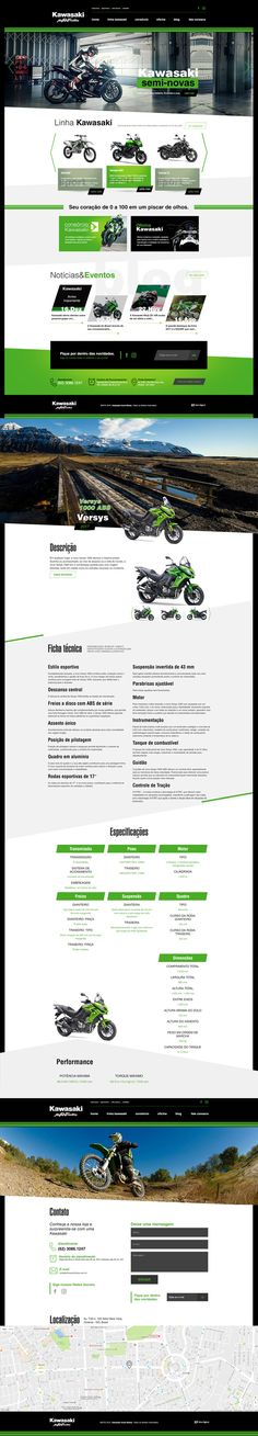 WebSite Kawasaki Avant Motos