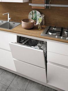 My Pins Italian contemporary modern kitchen design Stosa Infinity. Kitchen Room Design, Home Decor Kitchen, Interior Design Kitchen, Kitchen Furniture, Home Kitchens, Kitchen Ideas, Space Kitchen, Kitchen Colors, Contemporary Kitchen Cabinets