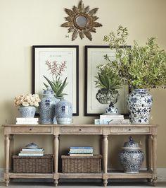 Black frames on botanicals in Pretty Display